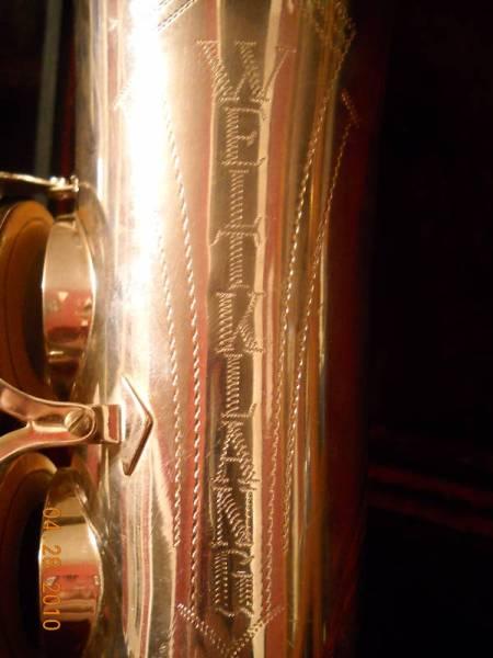 alto saxophone, Weltklang sax, tone holes, key guard, vintage German sax, DDR