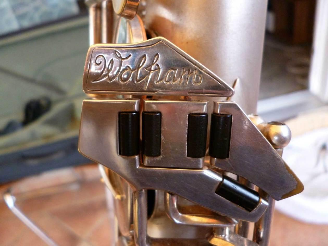 saxophone keys, Wolfram saxophone, MIGMA, silver sax, vintage, East German saxophone,