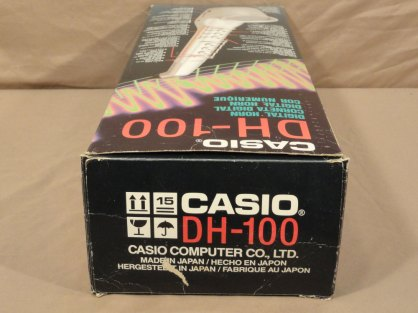 Casio Digital Horn, DH-100, wind controller
