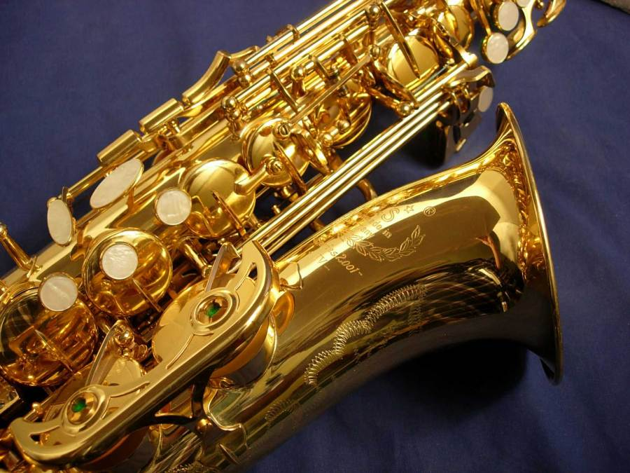 Series 2001 B&S alto sax, German saxophone, saxophone keys,