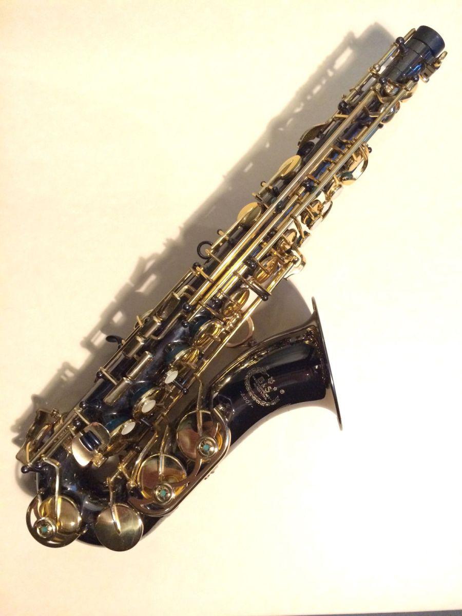 Series 2001 B&S alto saxophone, alto sax, black saxophone