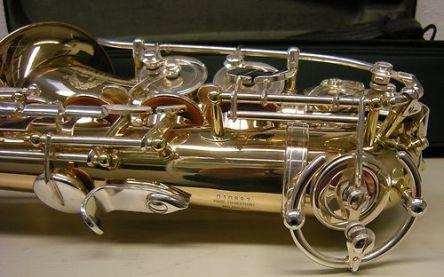 B&S Codera saxophone, sax key guards