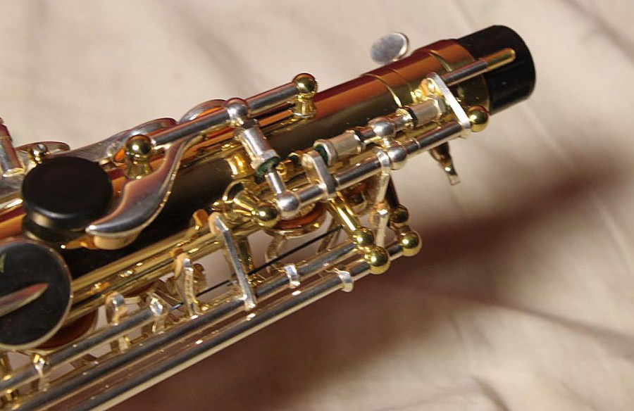 alto sax, B&S Codera, octave mechanism, sax keys