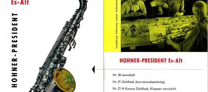 President Alto Saxophone