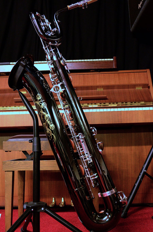 Series 2006 - Medusa, B&S Medusa baritone saxophone, bari sax