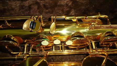 F. Schmidt baritone # 0106XX Source: A Friend of Bassic Sax