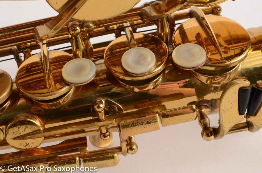 H. Couf, saxophone keys, mother of pearl key touches, key posts,