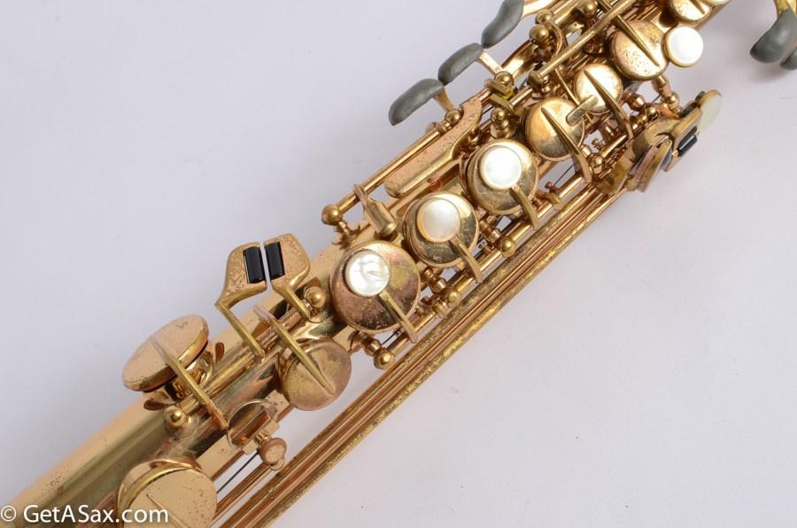 H. Couf, soprano saxophone, saxophone keys, vintage sax, German saxophone, Keilwerth