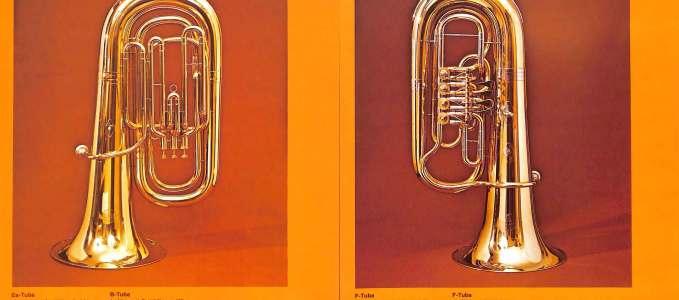 Bb Tuba 200 & F Tuba 94