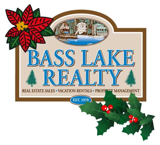 Happy Holidays from Bass Lake Realty!