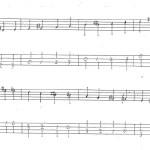ウッドベースはじめたての頃によくやってたクロマチックスケールの練習法(基礎練習)