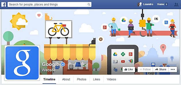 google facebook cover