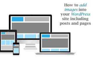 How to add images into your WordPress site including posts and pages