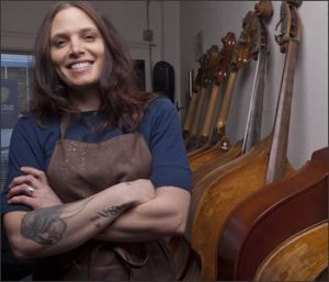 From Electric Bass to Upright Bass by Maureen Pandos
