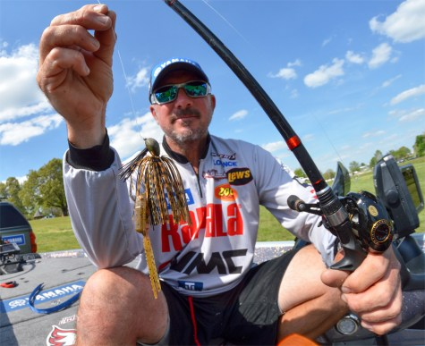 Tharps winning bait. A jig, surprise surprise. Photo by Joel Shangle.