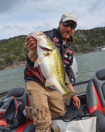 4. Talk to Fitzgerald Rods pro Bryan Thrift before a tournament and you'll swear he won't catch a single fish. And then he'll beat you 99 days out of 100. Photo by Joel Shangle.
