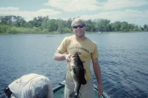 Jake with a 10lb bruser on Lake Toho