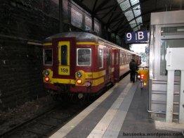 Zug zwischen Aachen Hbf und Liège-Guillemins