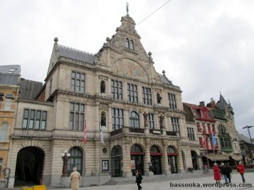 Theater in der Nähe des Botemarkt (Gent)
