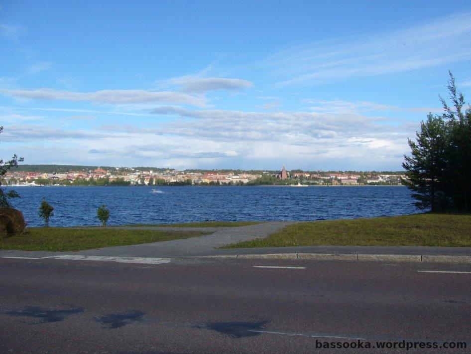 Blick auf Östersund