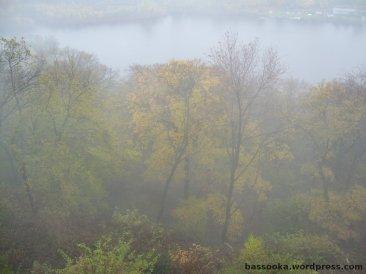 Dichter Nebel Richtung Hagen