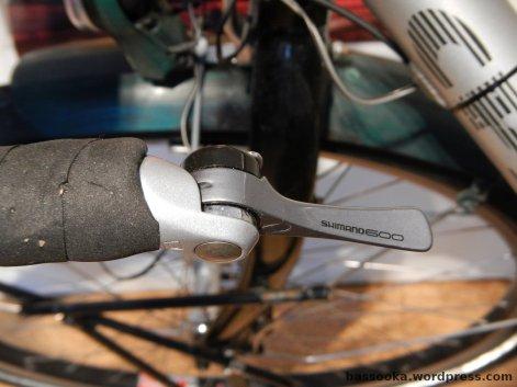 Shimano 600 Schalthebel am Lenkerende