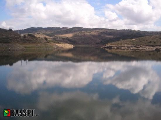 Vista da barragem de Cedães - 4ª prova