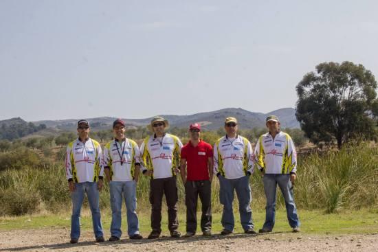 Equipa de competição do BASSPT.com na prova de margem da BASS Nation de Portugal em Vilarelhos - 2014