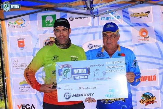 1º classificado do circuito - Joaquim Cabo