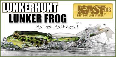 Sapo real Lunkerhunt Lunker frog
