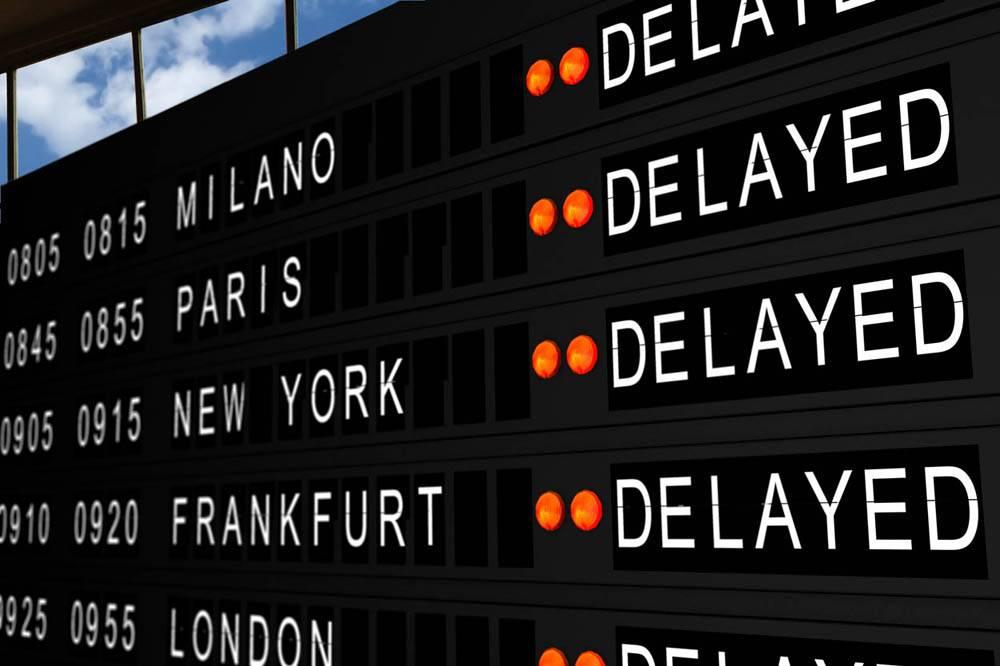 ritardo volo