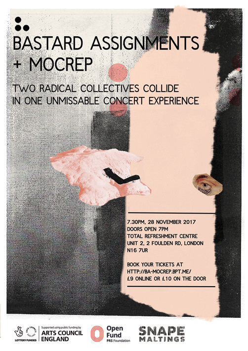 Bastard Assignments + Mocrep flyer
