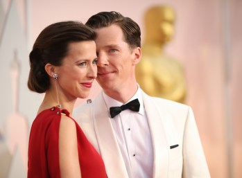 Benedict Cumberbatch e la moglie Sophie Hunter