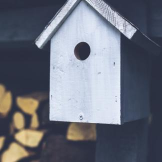 DIY - Modernes Vogelhaus für den Winter selber bauen