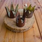 Kronen Teelichthalter Selber Basteln Basteln Und Dekorieren