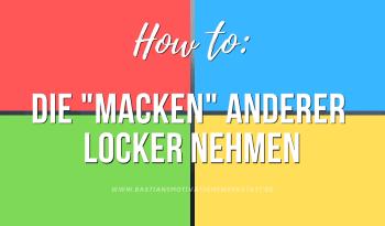 """""""Macken"""" anderer locker nehmen"""