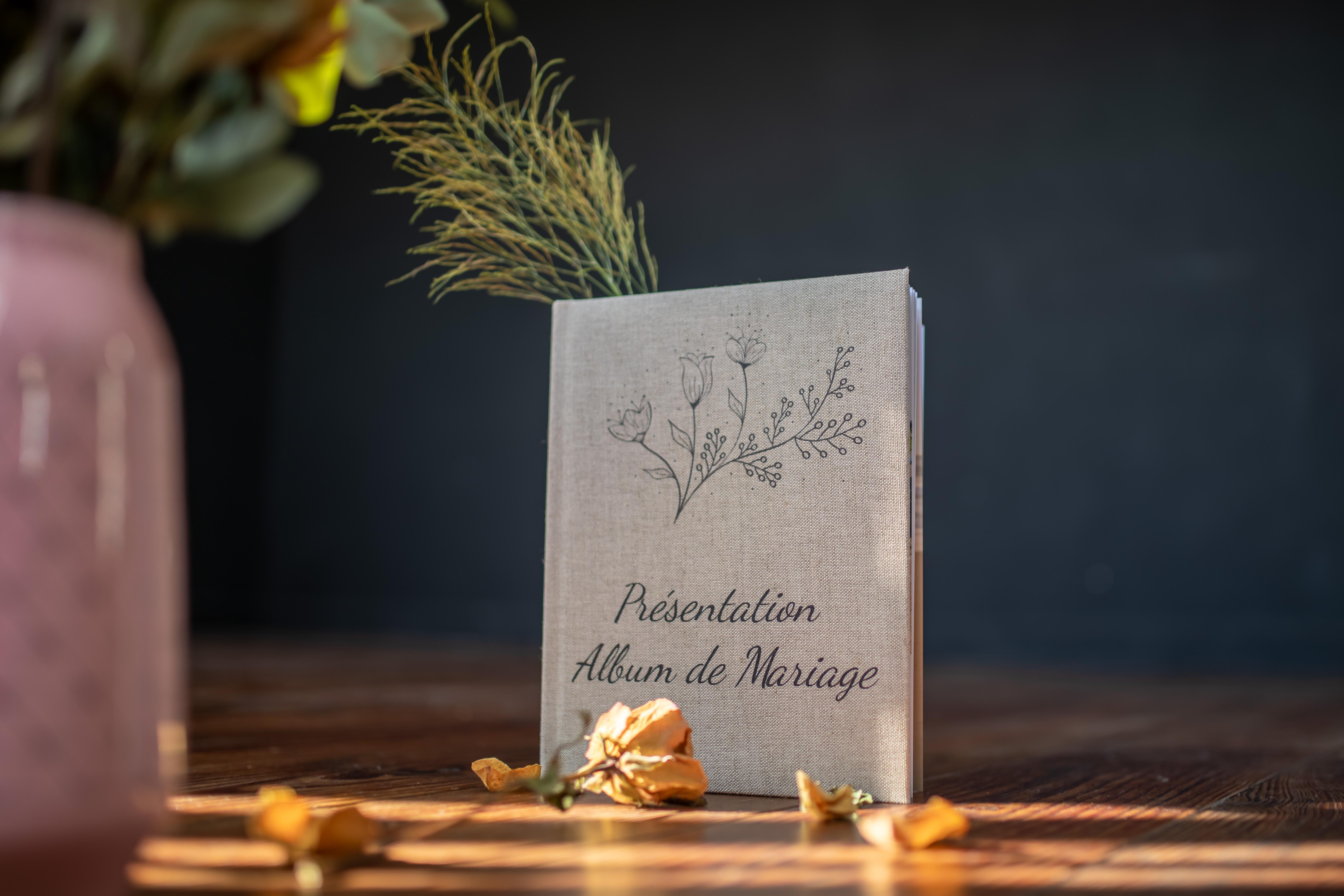 livre souvenirs mariage