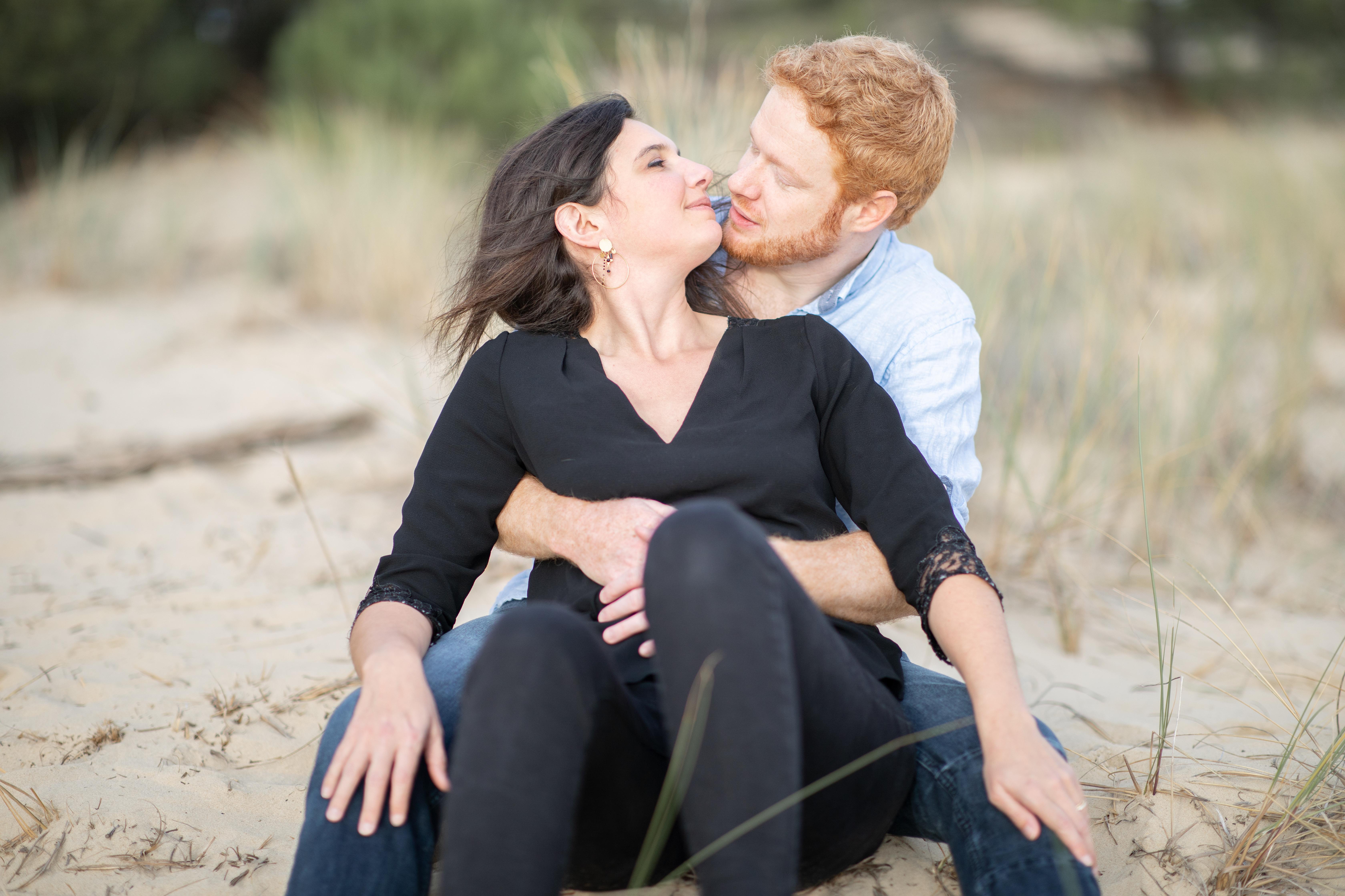mariage bassin d'Arcachon séance engagement