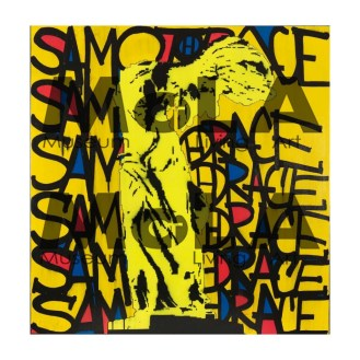 2015 100 x 100 cm Papier Hahnemuhle Photo Rag® 308 gr EPSON. Tirage 2 exemplaires numérotés et signés par l'artiste. Collection MoLA Paris.