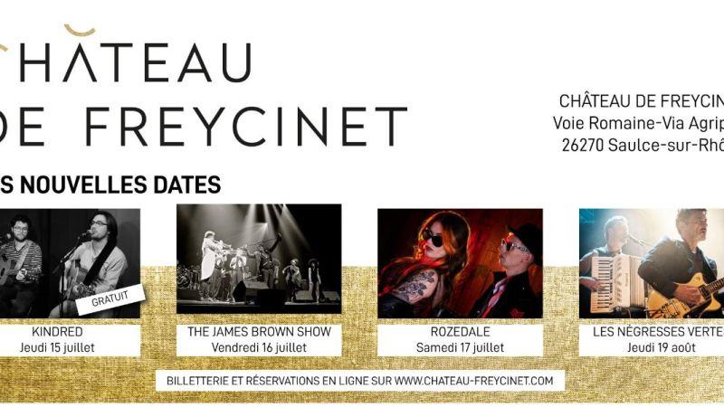 De nouvelles dates au château de Freycinet