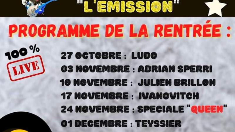 Stars des Champs L'Émission revient !