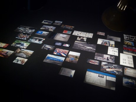 Collage de la vida y muerte del carro de supermercado