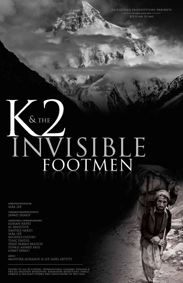 K2 AND THE INVISIBLE FOOTMEN_poster