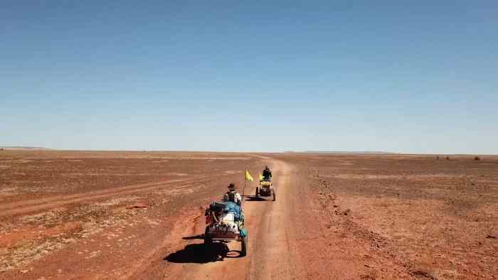 CROSSING THE OUTBACK- EXPEDITION PARENTHOOD