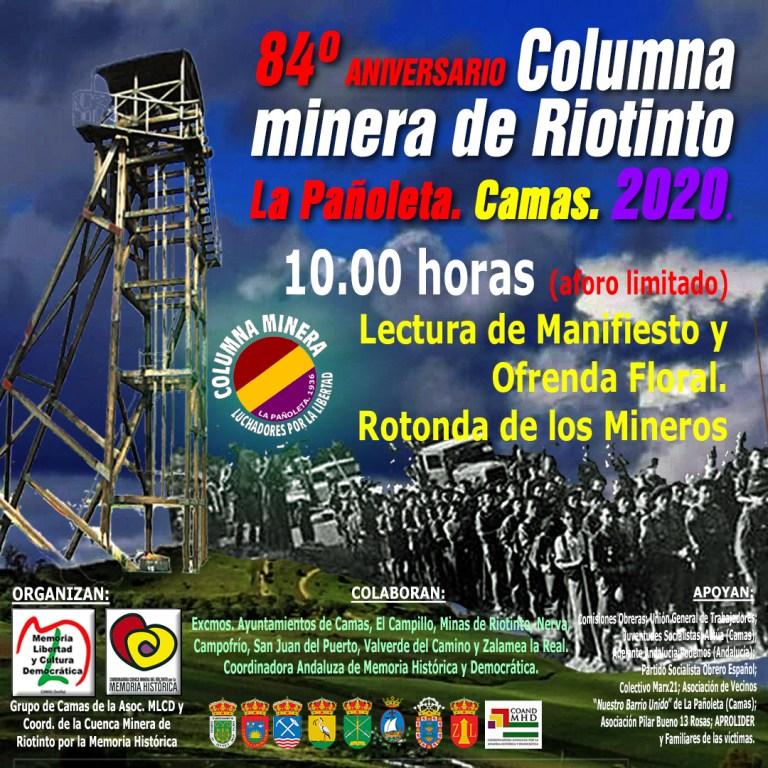 84º Aniversario de La Columna Minera de Riotinto