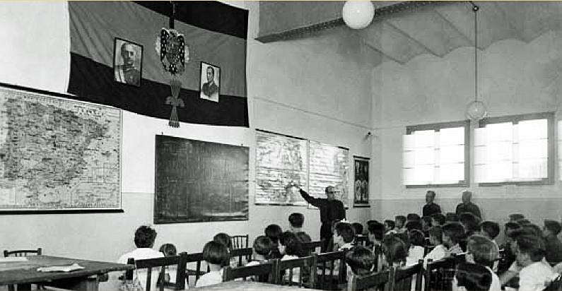 Educación en el franquismo