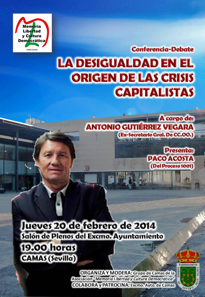 Conferencia de Antonio Gutiérrez. 20.02.2014