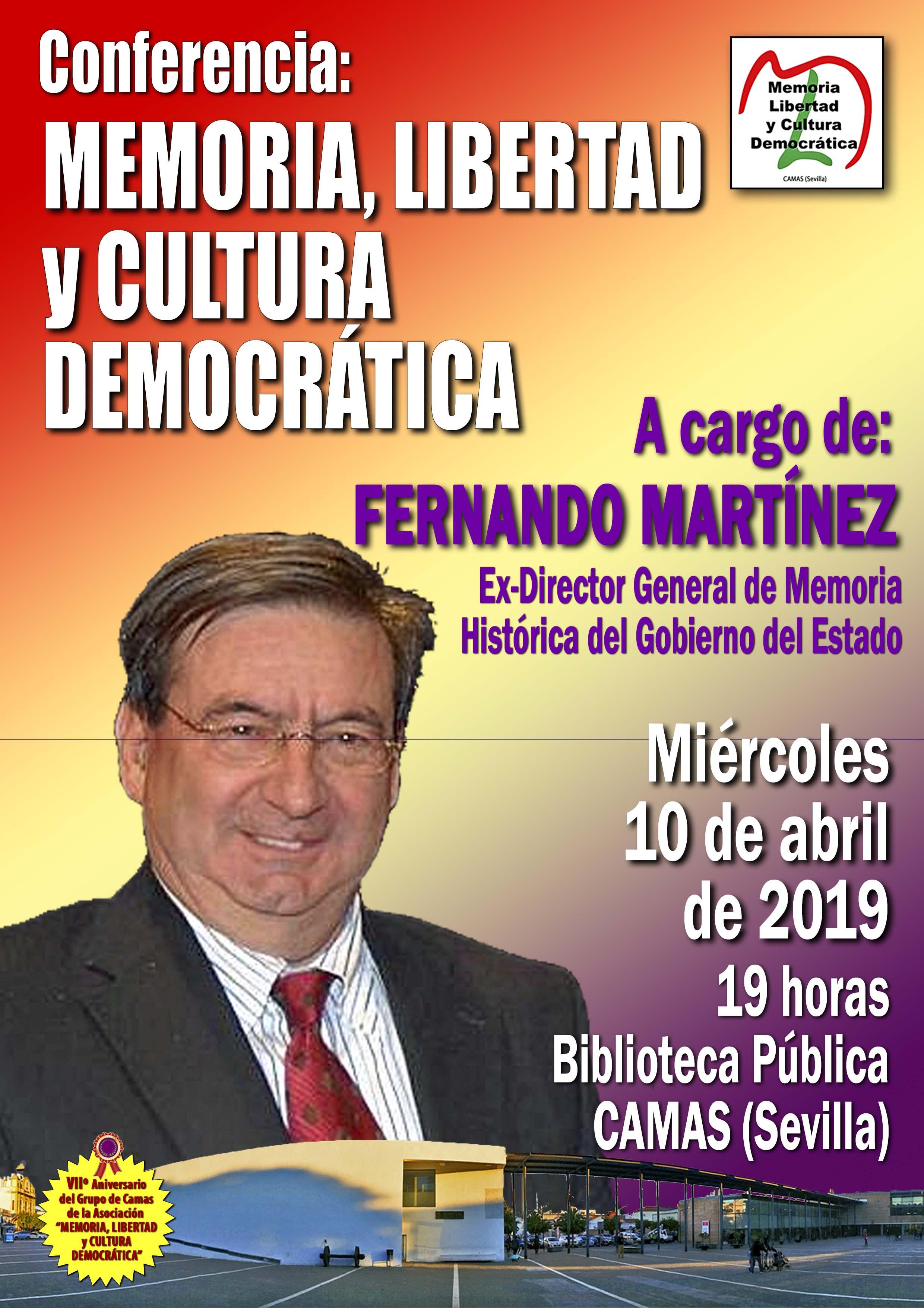 Conferencia Fernando Martínez. 10.04.2019