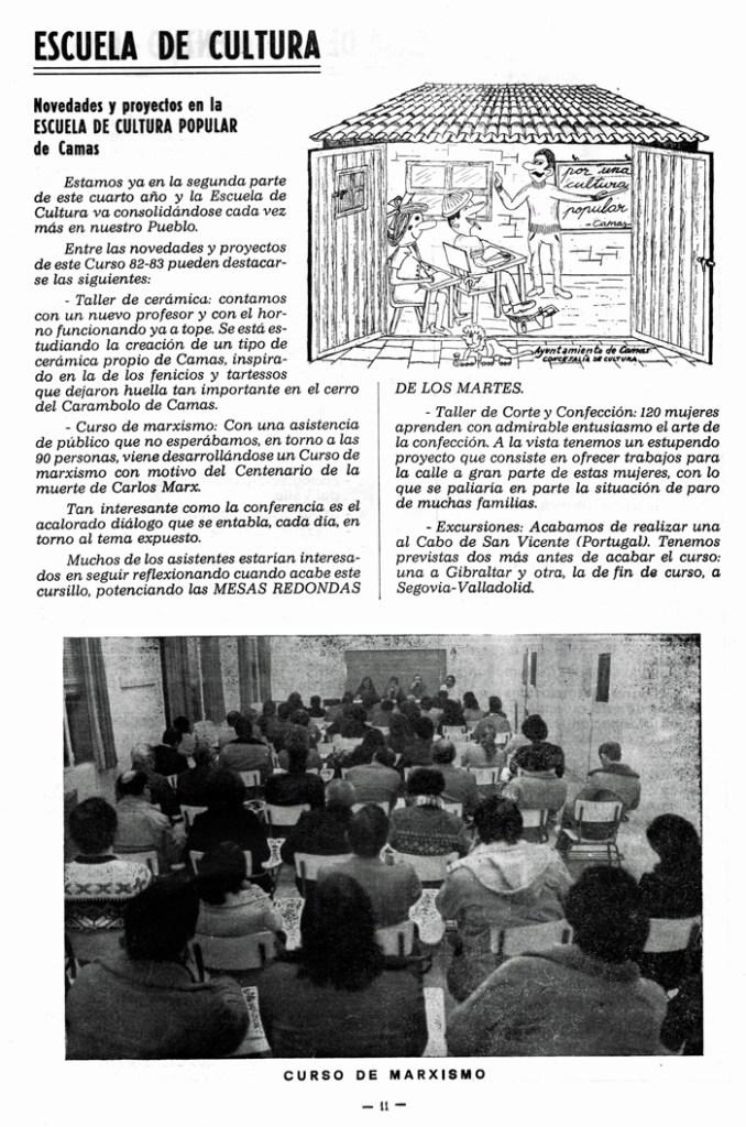 Información de la E.C.P. Boletín Informativo Municipal.