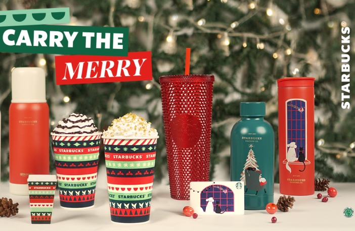 Starbucks Holiday 2020 - Carry the Merry